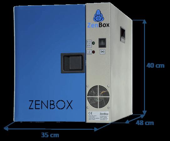 caja insonorizada para una bomba de vacío