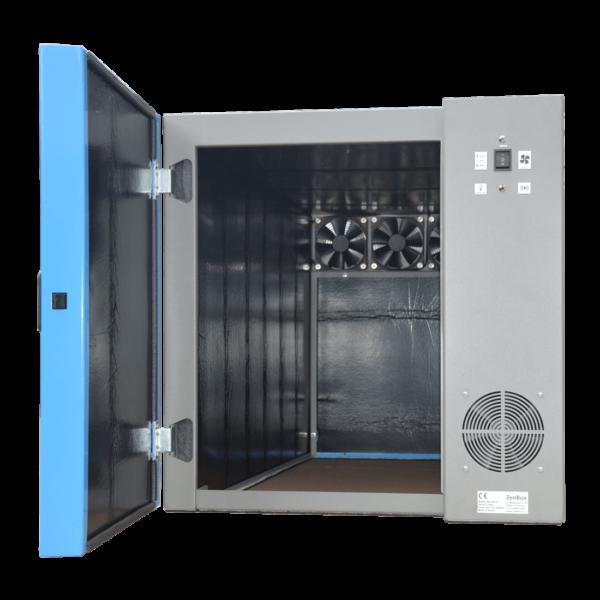 acoustic reduce enclosure for one vacuum pump