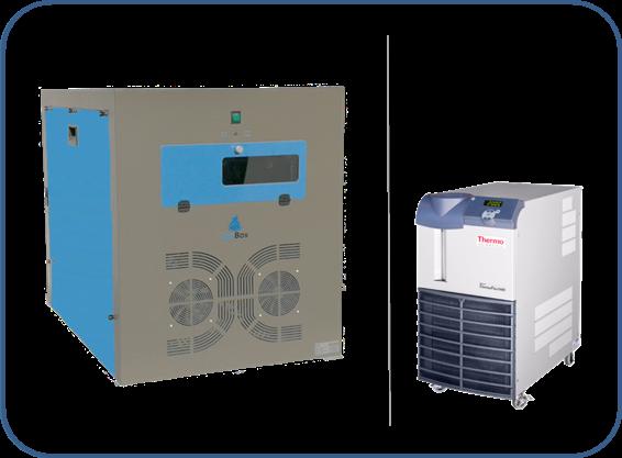 cajas insonorizadas para enfriadores recirculantes serie ThermoFlex o thermoflex LN (low noise) de thermo fisher