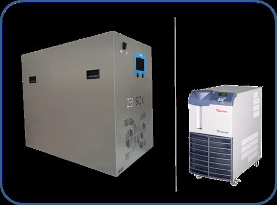 cajas insonorizadas para los refrigeradores recirculantes serie ThermoFlex o Thermoflex LN (low noise) marca ThermoFisher