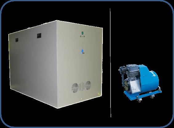 caja insonorizada para compresores de aire comprimido serie aso de boge