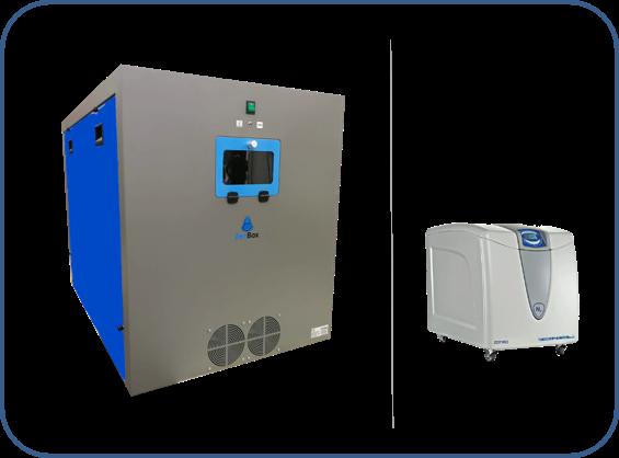 cabina insonorizada para generadores de gas nitrógeno