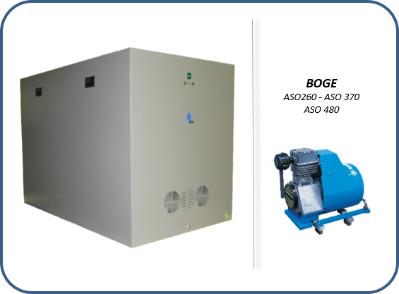 soundproof enclosures for the air compressors