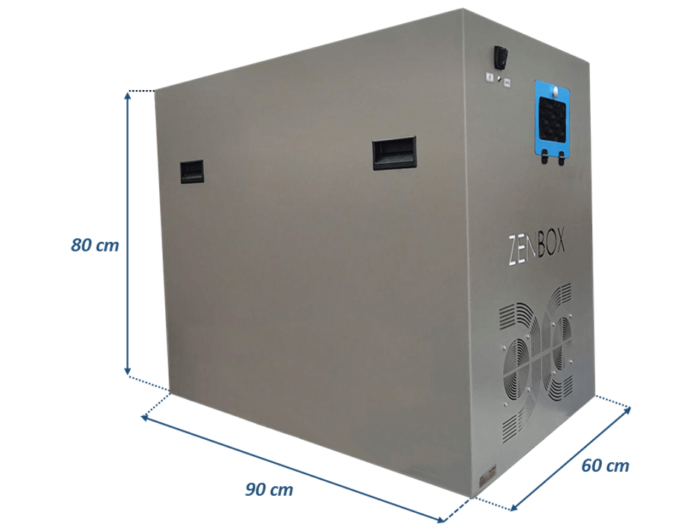 soundproofing enclosures for the recirculating chillers
