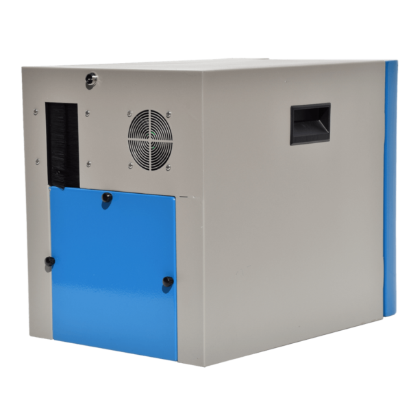 acoustic enclosure for one vacuum pump