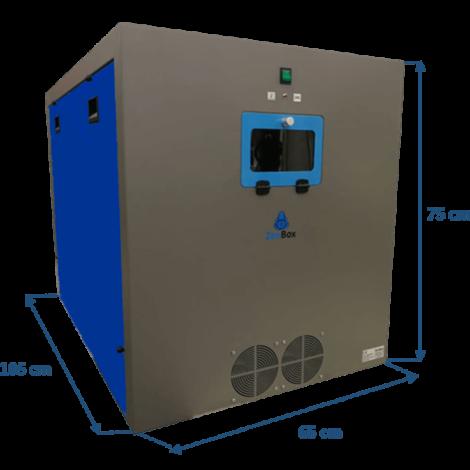 caja insonorizada para generadores de nitrógeno LC / MS / HPLC