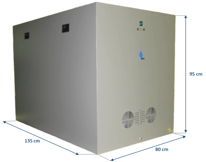 caja insonorizada para compresores de ruido boge