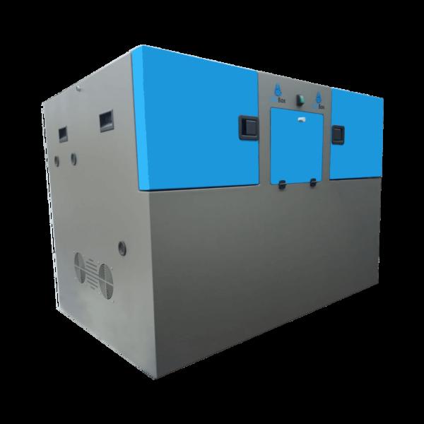 caja insonorizada para compresores de hidrógeno de alta presión