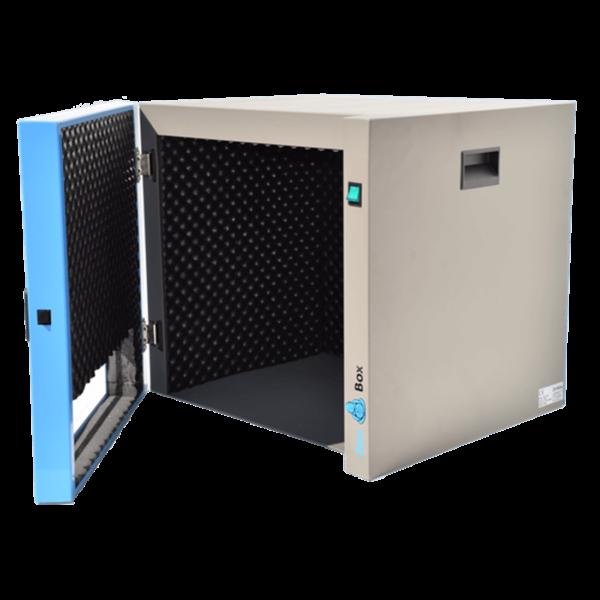 caja insonorizada para baños de limpieza por ultrasonidos con o sin calefacción