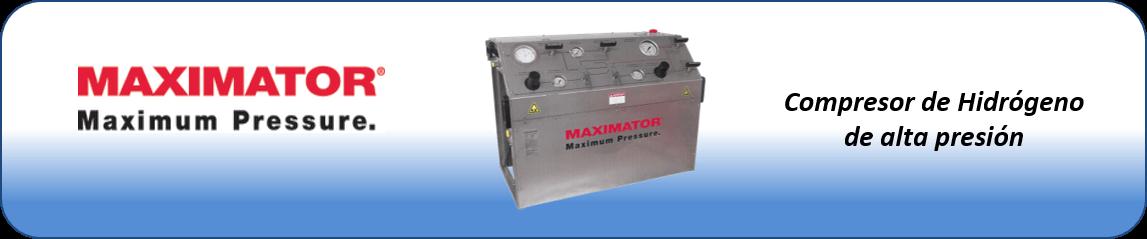 caja insonorizada para compresores de hidrógeno de alta presión maximator