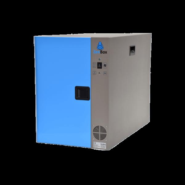 caja insonorizada para una bomba de vacío rotativa