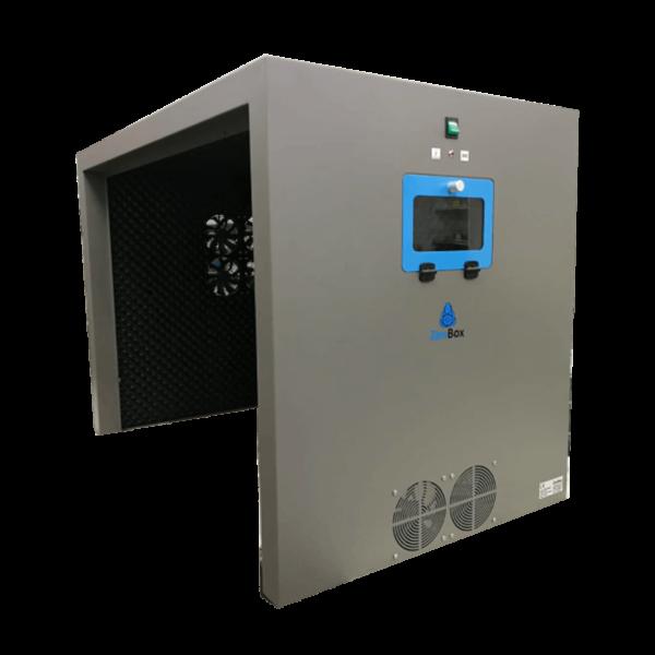 caja insonorizada para generadores nitrógeno por LC / MS / HPLC