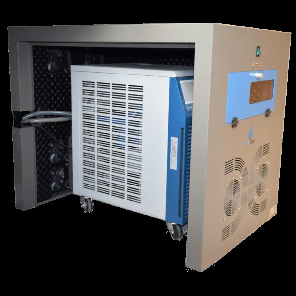 cajas insonorizadas para el refrigerador recirculante chiller