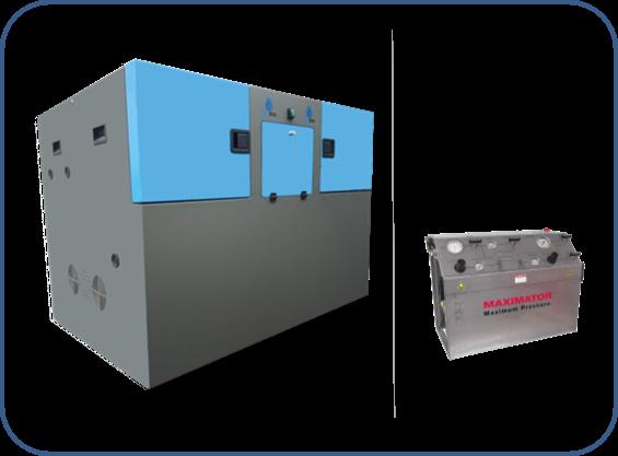 soundproof box for high pressure hydrogen compressors