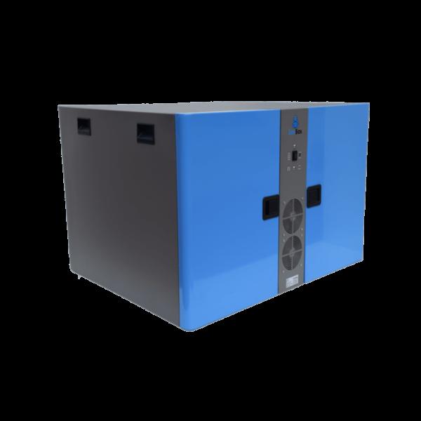double enclosure acoustic for two vacuum pumps