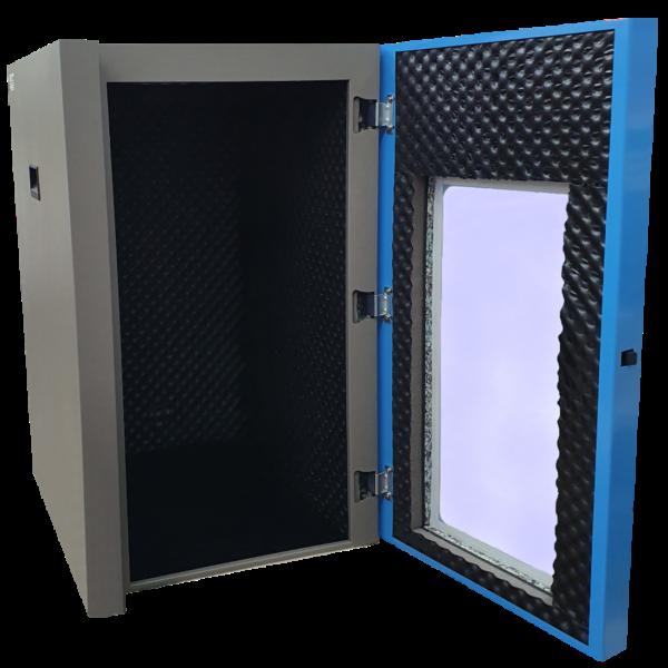 caja insonorizada para Tapped Density Tester
