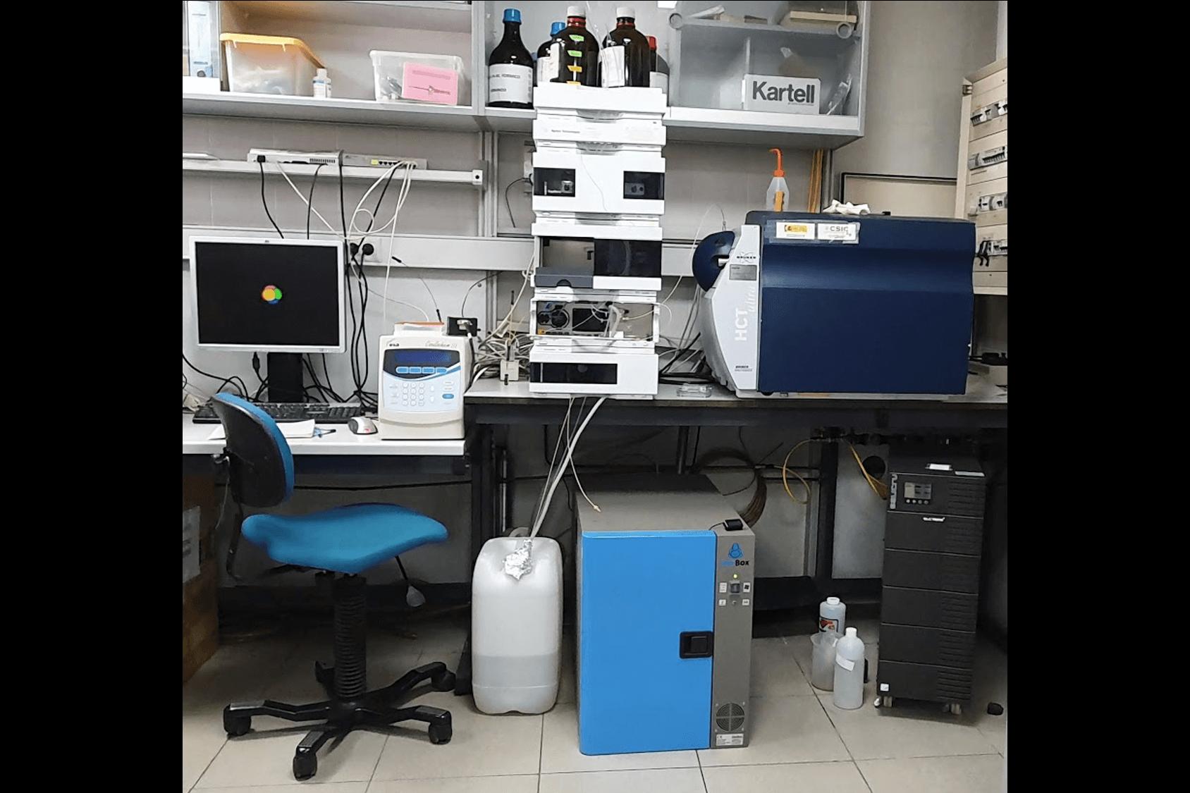 one agilent ms40+ single stage rotary vane pump