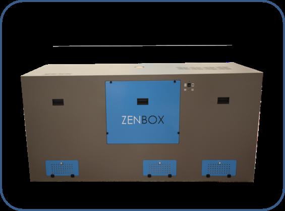 cajas insonorizadas para seis bombas de vacío