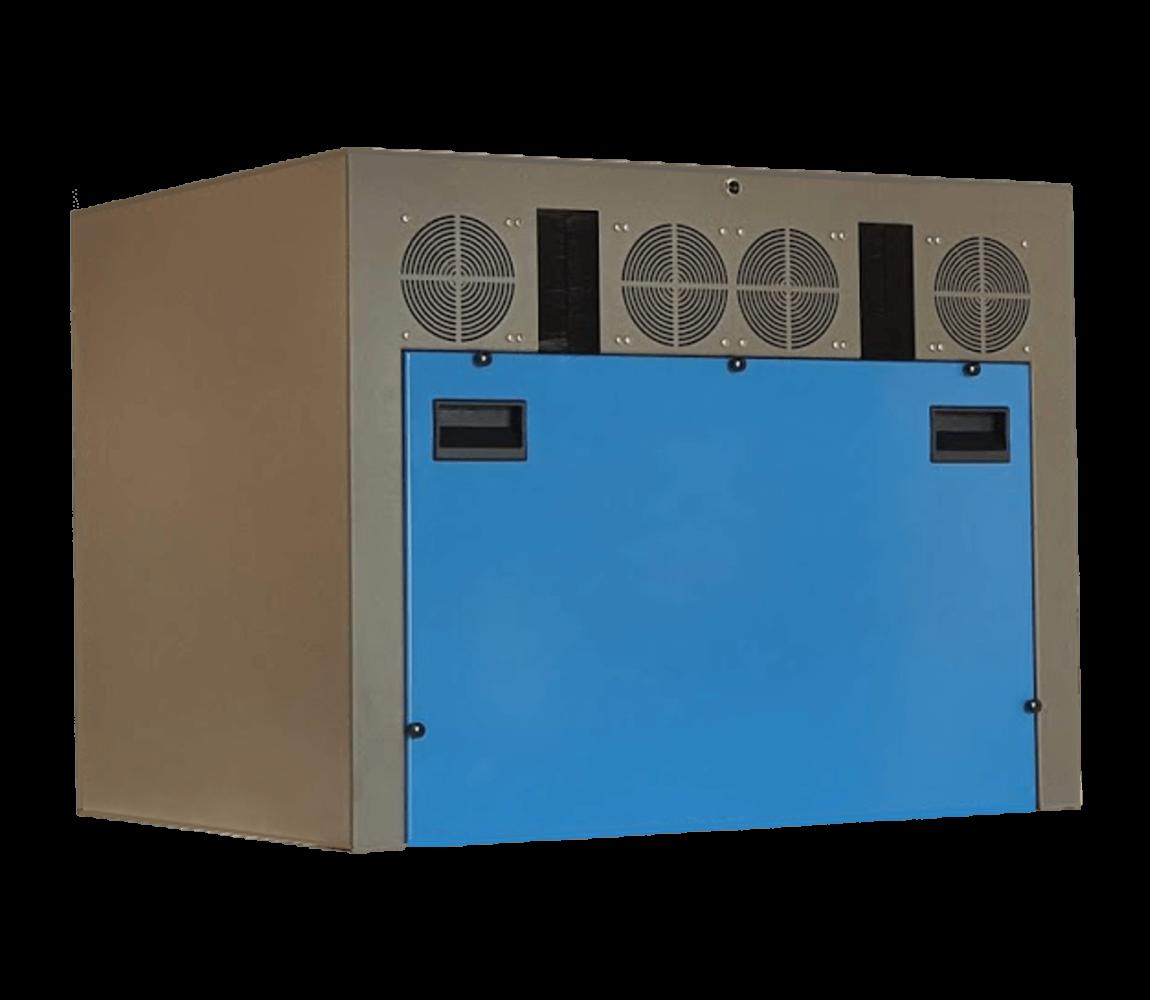 cajas insonorizadas hechas a medida para dos bombas de vacío