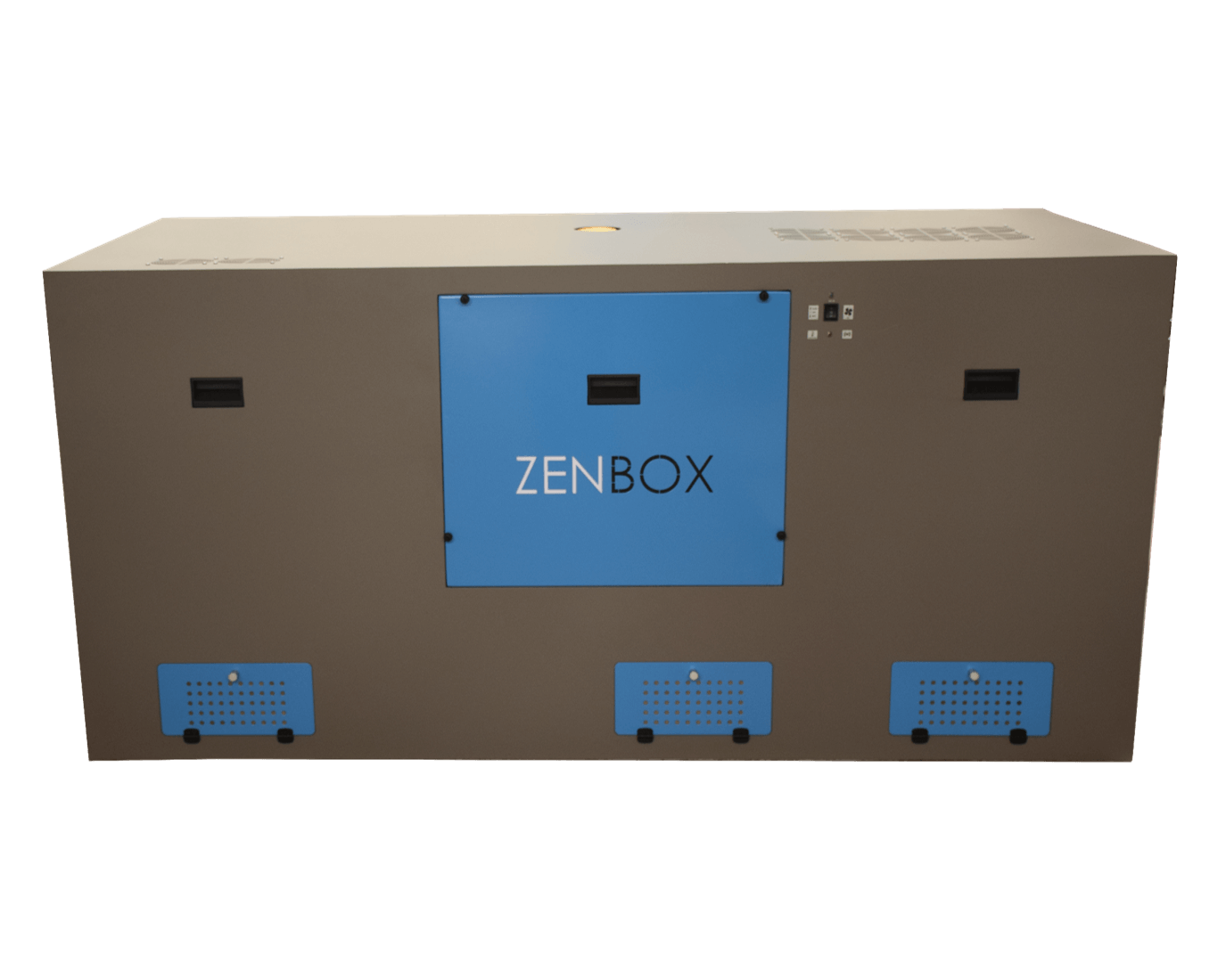 cajas insonorizadas hechas a medida para seis bombas de vacío