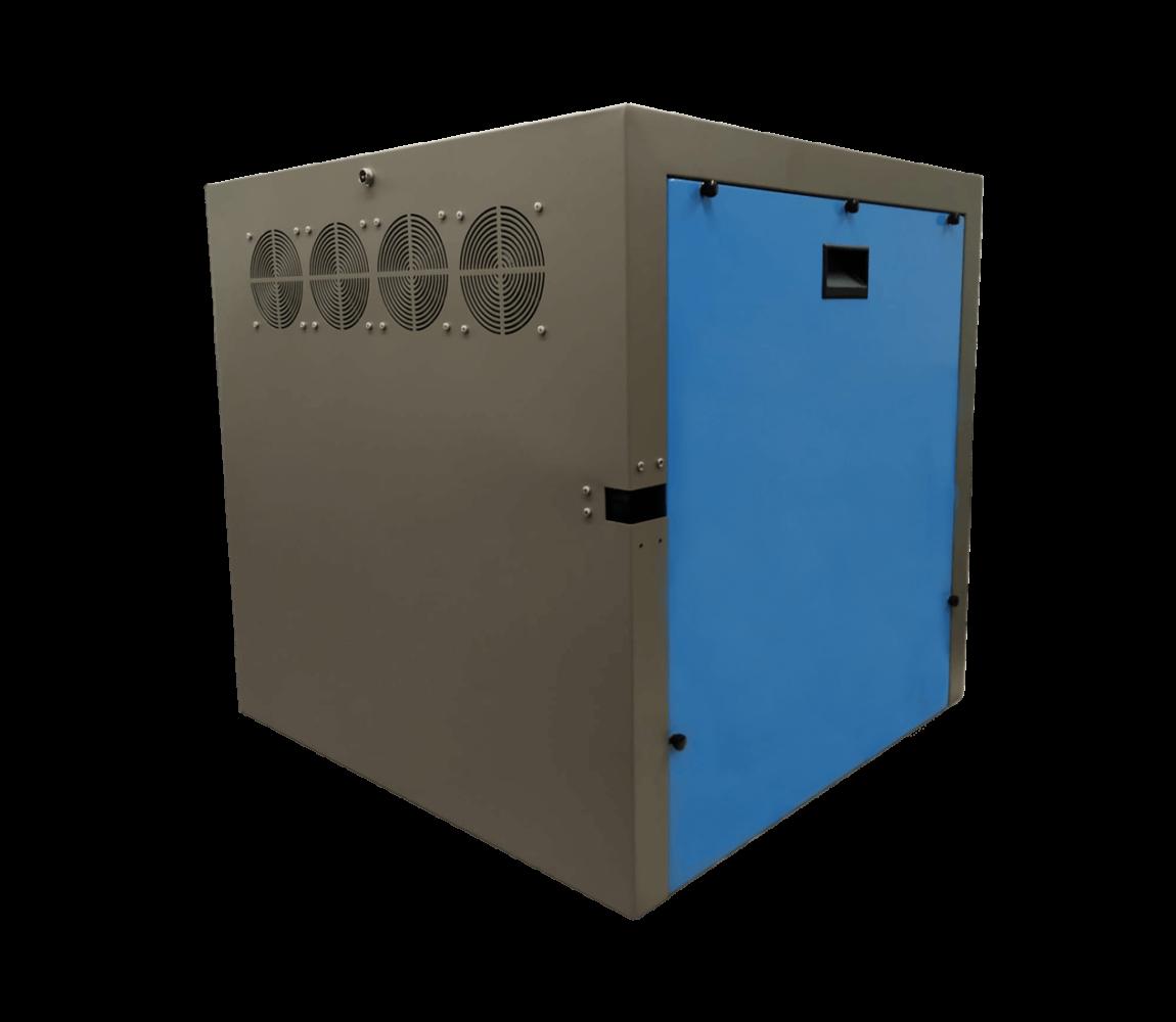 cajas insonorizadas hecha a medida para las bombas de vacío Busch