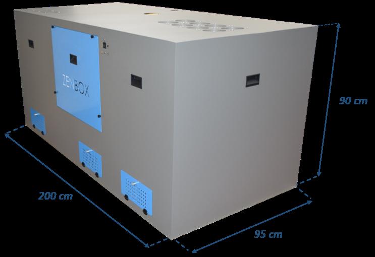 cajas insonorizada para seis bombas de vacío